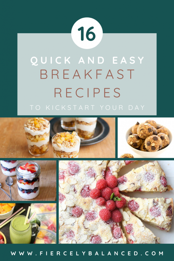 Here are 16 quick and easy breakfast recipes you can make ahead to ease your morning stress.