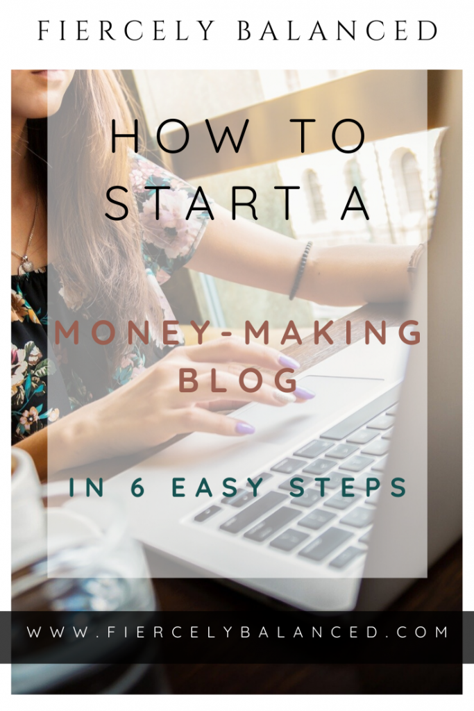 Step-by-step instructions on how to start a money-making blog in 2020 that is right from the beginning.